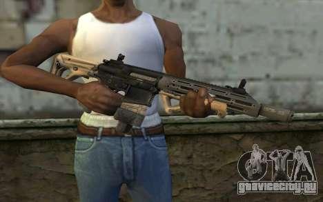 SIG-556 для GTA San Andreas третий скриншот