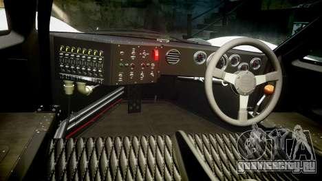 Ford GT40 Mark IV 1967 PJ Meyer 30 для GTA 4 вид сзади