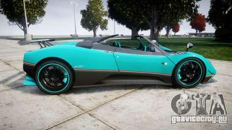 Pagani Zonda Uno для GTA 4 вид слева
