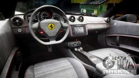 Ferrari California [EPM] v1.5 для GTA 4 вид изнутри