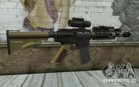 M4 MGS Aimpoint v2 для GTA San Andreas второй скриншот