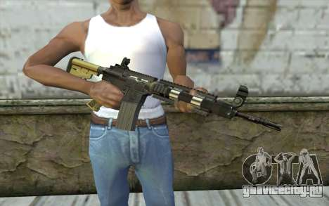 M4 MGS Iron Sight v1 для GTA San Andreas третий скриншот
