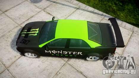 Albany Presidente Racer для GTA 4 вид справа