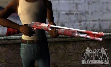 Chromegun v2 Апокалипсис раскраска для GTA San Andreas третий скриншот