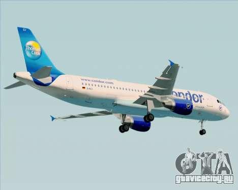 Airbus A320-200 Condor для GTA San Andreas вид снизу