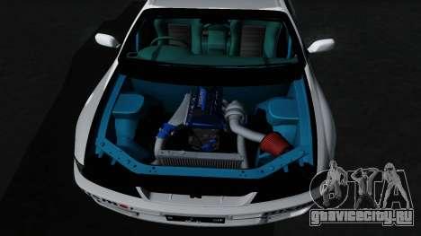 Nissan Skyline GT-R33 для GTA San Andreas вид снизу