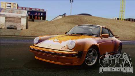 Porsche 911 Turbo 1982 Tunable KIT C PJ для GTA San Andreas