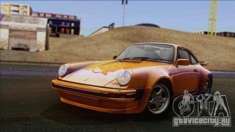 Porsche 911 Turbo 1982 Tunable KIT C PJ для GTA San Andreas