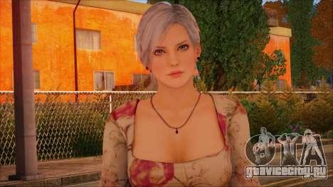 Modern Woman Skin 1 для GTA San Andreas третий скриншот