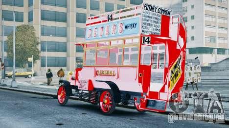 London Bus для GTA 4 вид слева