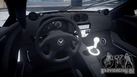 Mosler MT900 для GTA 4 вид сзади