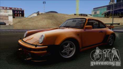 Porsche 911 Turbo 1982 Tunable KIT C PJ для GTA San Andreas вид справа