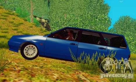 ВАЗ-2109 Универсал для GTA San Andreas вид слева