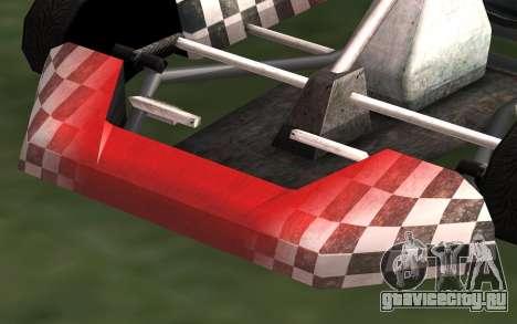 Обновлённый Kart для GTA San Andreas для GTA San Andreas вид сзади слева