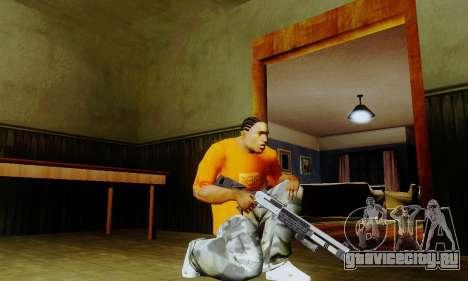 Weapon pack from CODMW2 для GTA San Andreas второй скриншот