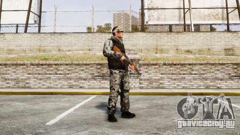 Medal of Honor LTD Camo2 для GTA 4 второй скриншот