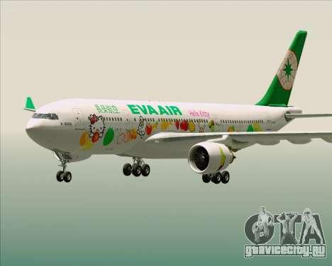 Airbus A330-200 EVA Air (Hello Kitty) для GTA San Andreas салон