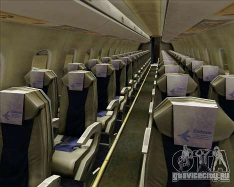 Embraer E-190-200LR House Livery для GTA San Andreas колёса