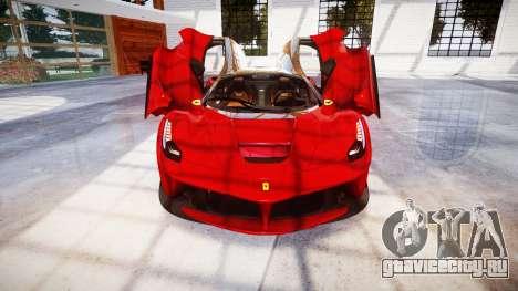 Ferrari LaFerrari для GTA 4 вид сверху