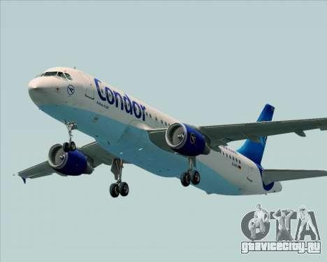 Airbus A320-200 Condor для GTA San Andreas двигатель