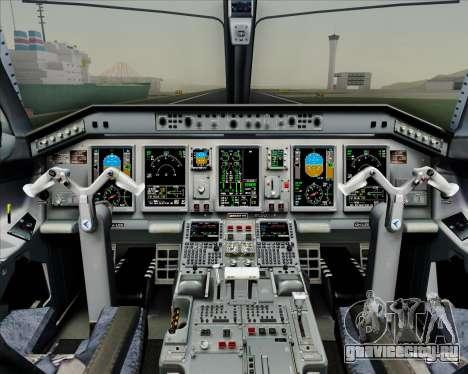 Embraer E-190-200LR House Livery для GTA San Andreas салон