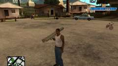 C-HUD by SampHack v.17 для GTA San Andreas