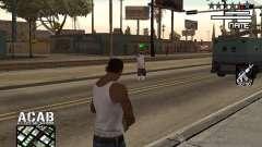 C-HUD by Edya для GTA San Andreas