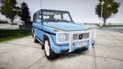 Mercedes-Benz G500 Short 1999 для GTA 4