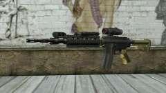 M4 MGS Aimpoint v2 для GTA San Andreas