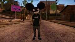 Deadmau5 Skin для GTA San Andreas