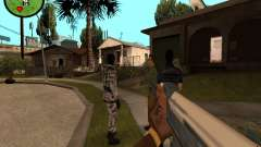 Counter-Strike HUD для GTA San Andreas