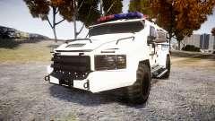 SWAT Van Police Emergency Service [ELS] для GTA 4