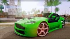 Aston Martin Vantage N400 для GTA San Andreas