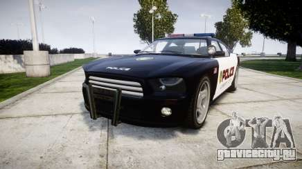 Bravado Buffalo Police LCPD для GTA 4