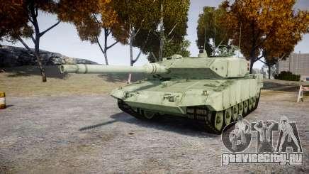 Leopard 2A7 DK Green для GTA 4