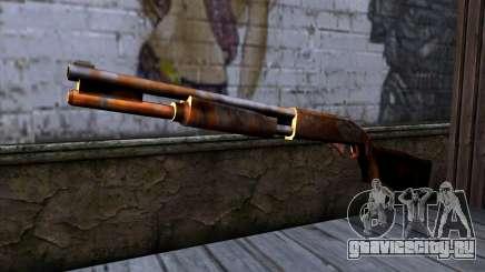 Chromegun v2 Ржавый для GTA San Andreas