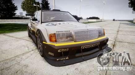 Mercedes-Benz 190E Evo II GT3 PJ 4 для GTA 4