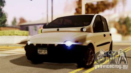 Fiat Multipla Black Bumpers для GTA San Andreas