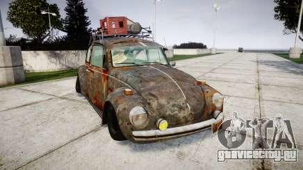 Volkswagen Beetle rust для GTA 4