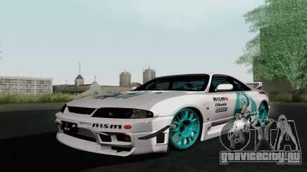 Nissan Skyline GT-R33 для GTA San Andreas