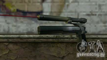 AMT Hardballer Longslide с Лазерным Прицелом для GTA San Andreas