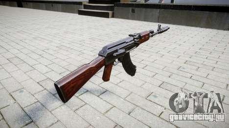 Автомат АК-47 Muzzle brake для GTA 4 второй скриншот
