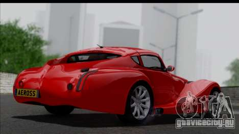 Morgan AeroSS 2013 v1.0 для GTA San Andreas вид слева