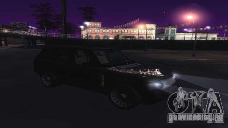 ENB и ColorMod для средних и слабых PC для GTA San Andreas четвёртый скриншот