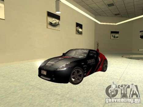 Nissan 370 Z Z34 2010 Tunable для GTA San Andreas вид сбоку