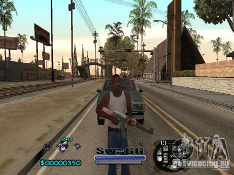 CLEO HUD SWAGG для GTA San Andreas