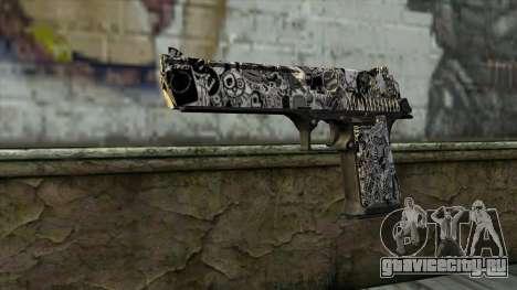 Новый Пистолет v2 для GTA San Andreas
