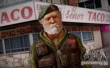 Bill from Left 4 Dead Beta для GTA San Andreas третий скриншот