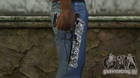 Новый Пистолет v2 для GTA San Andreas третий скриншот