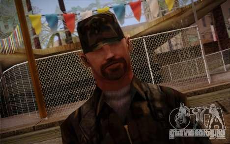 Soldier Skin 3 для GTA San Andreas третий скриншот